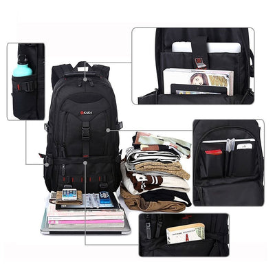 15inch Laptops Backpack, Hiking Outdoor Bag