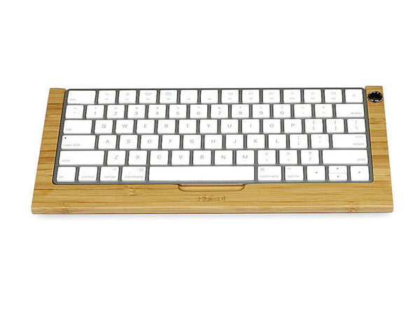 iMac Magic Wireless Keyboard Holder Wood Stand