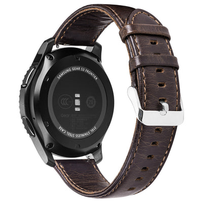 Leather Strap for Samsung Gear S3 Watch