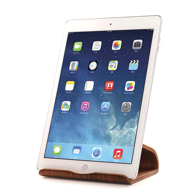 Wooden Tablet Stand, Mult-Angle iPad Holder