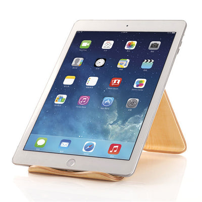 Wooden iPad Tablet Stand
