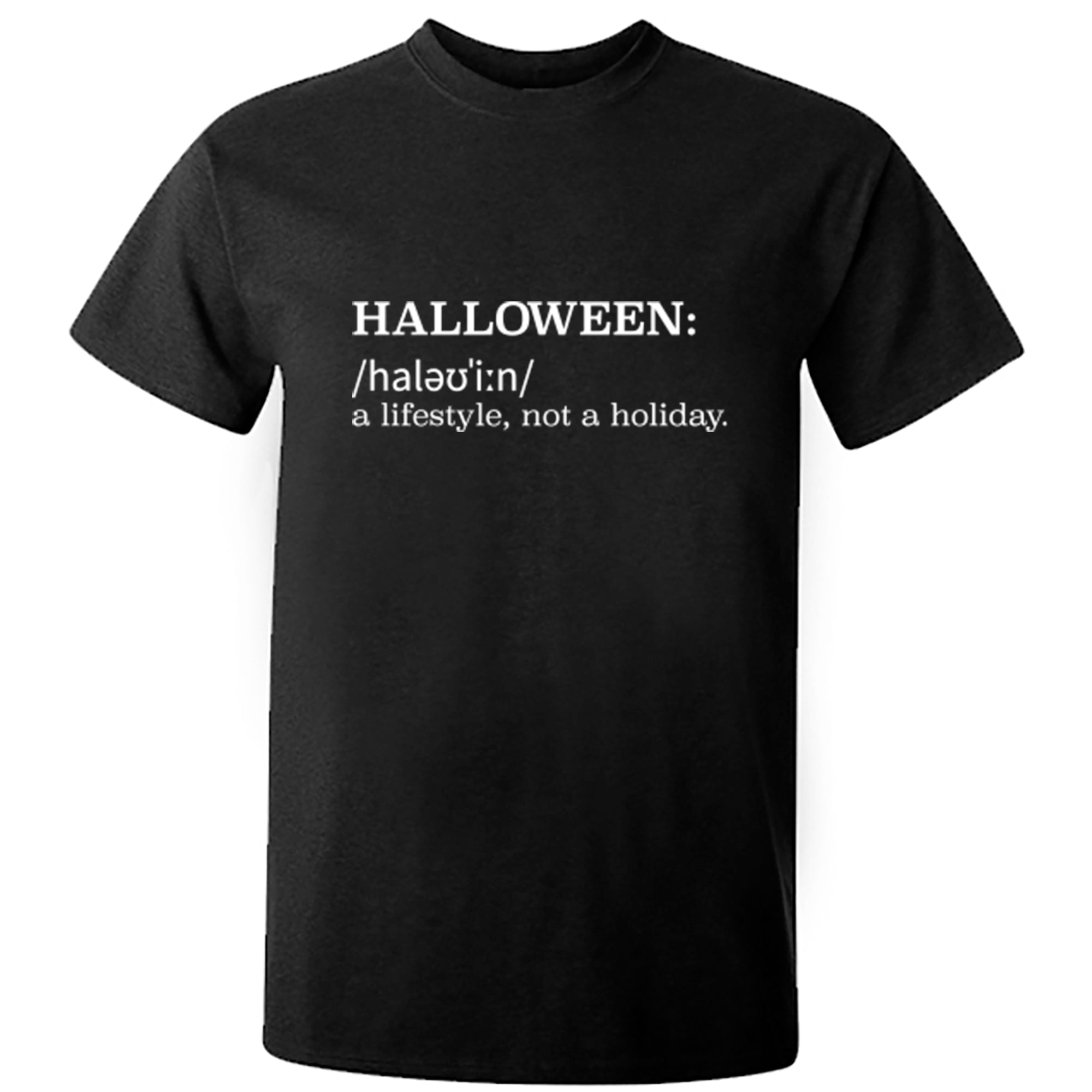 Halloween Definition Unisex Fit T-Shirt A0024 - Illustrated Identity Ltd.