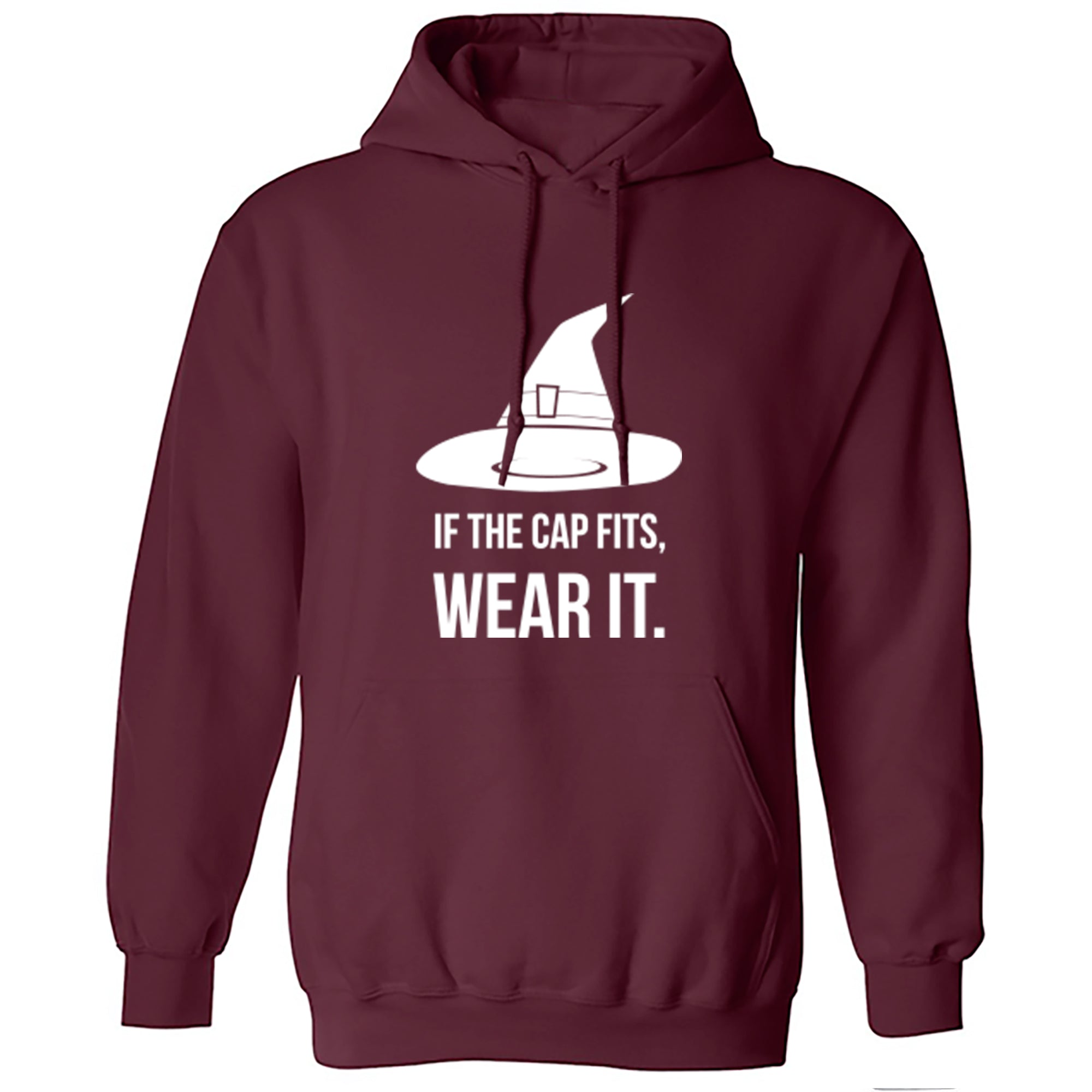 If The Cap Fits, Wear It Unisex Hoodie A0025 - Illustrated Identity Ltd.