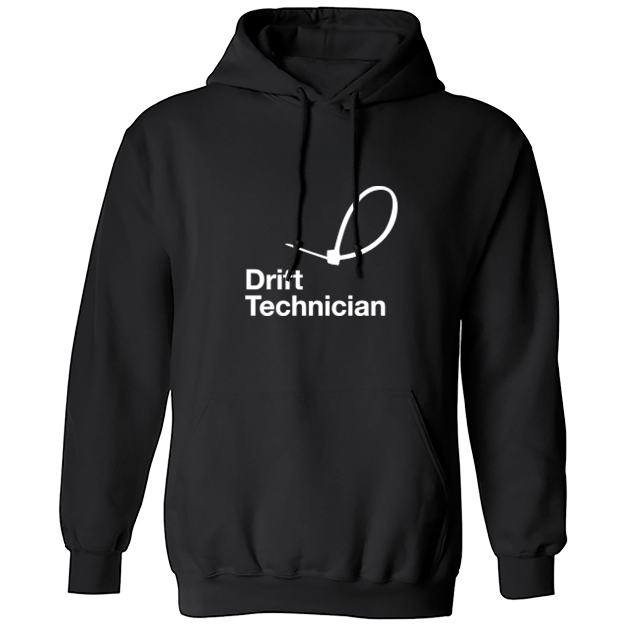 Drift Technician Unisex Hoodie A0077 - Illustrated Identity Ltd.