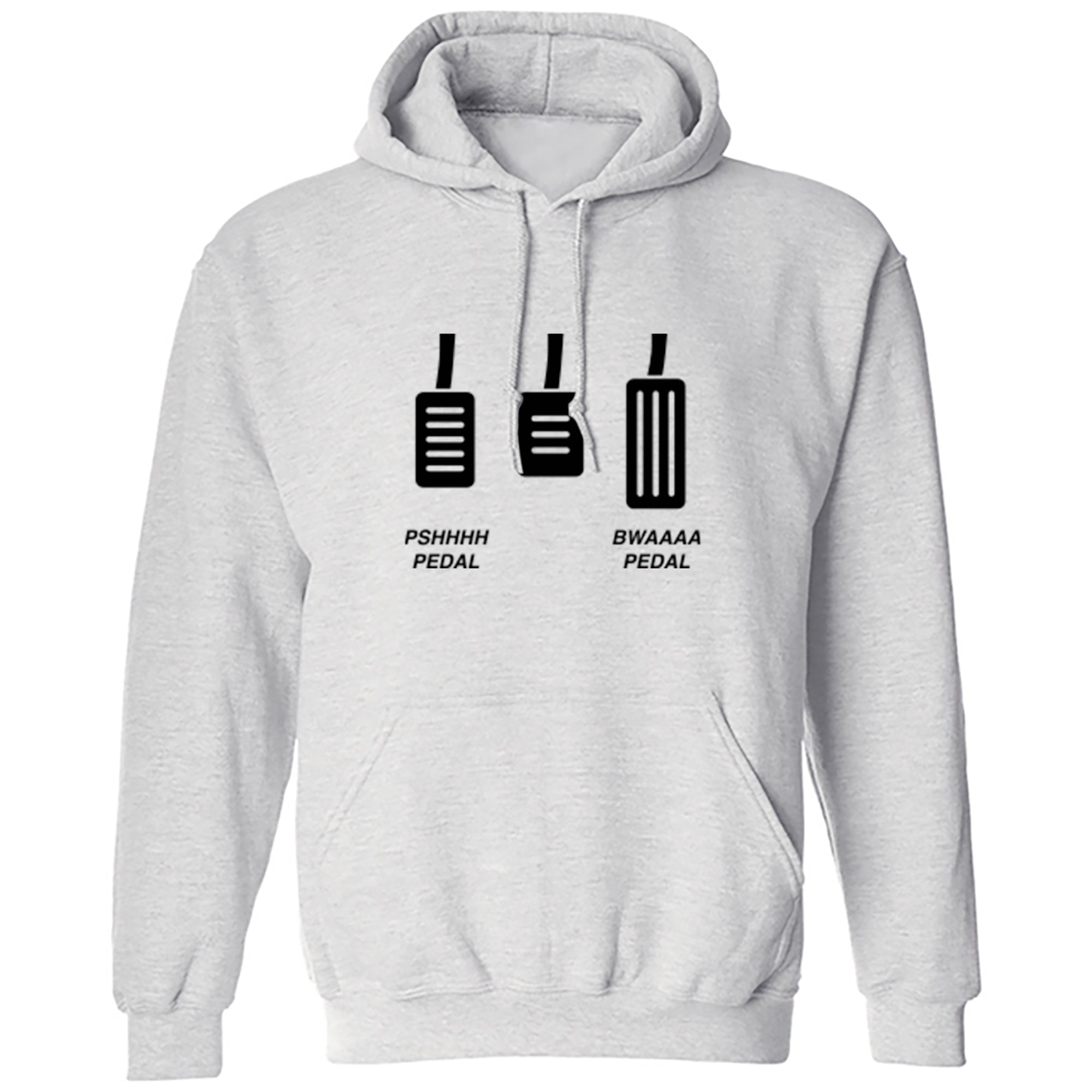 PSHHHH Pedal BWAAAA Pedal Unisex Hoodie A0078 - Illustrated Identity Ltd.