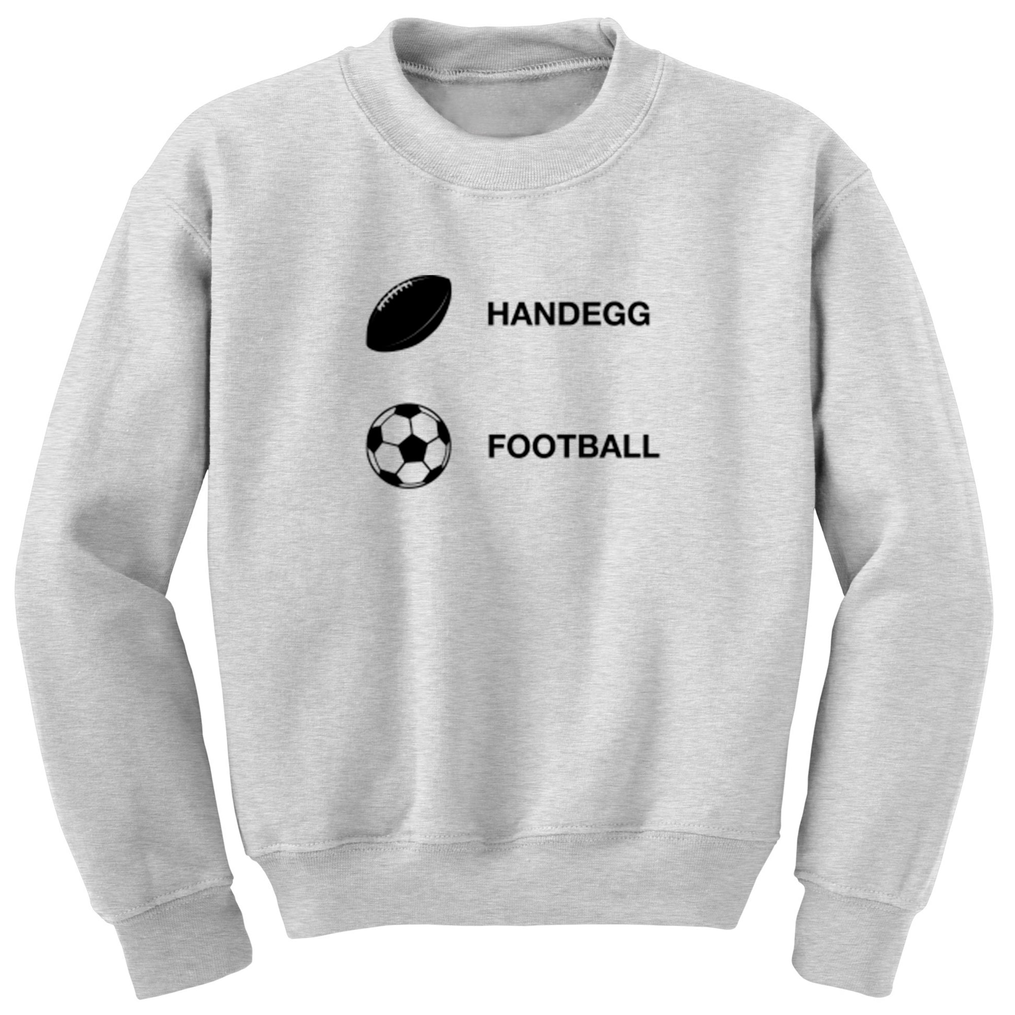 Handegg, Football Unisex Jumper A0085 - Illustrated Identity Ltd.
