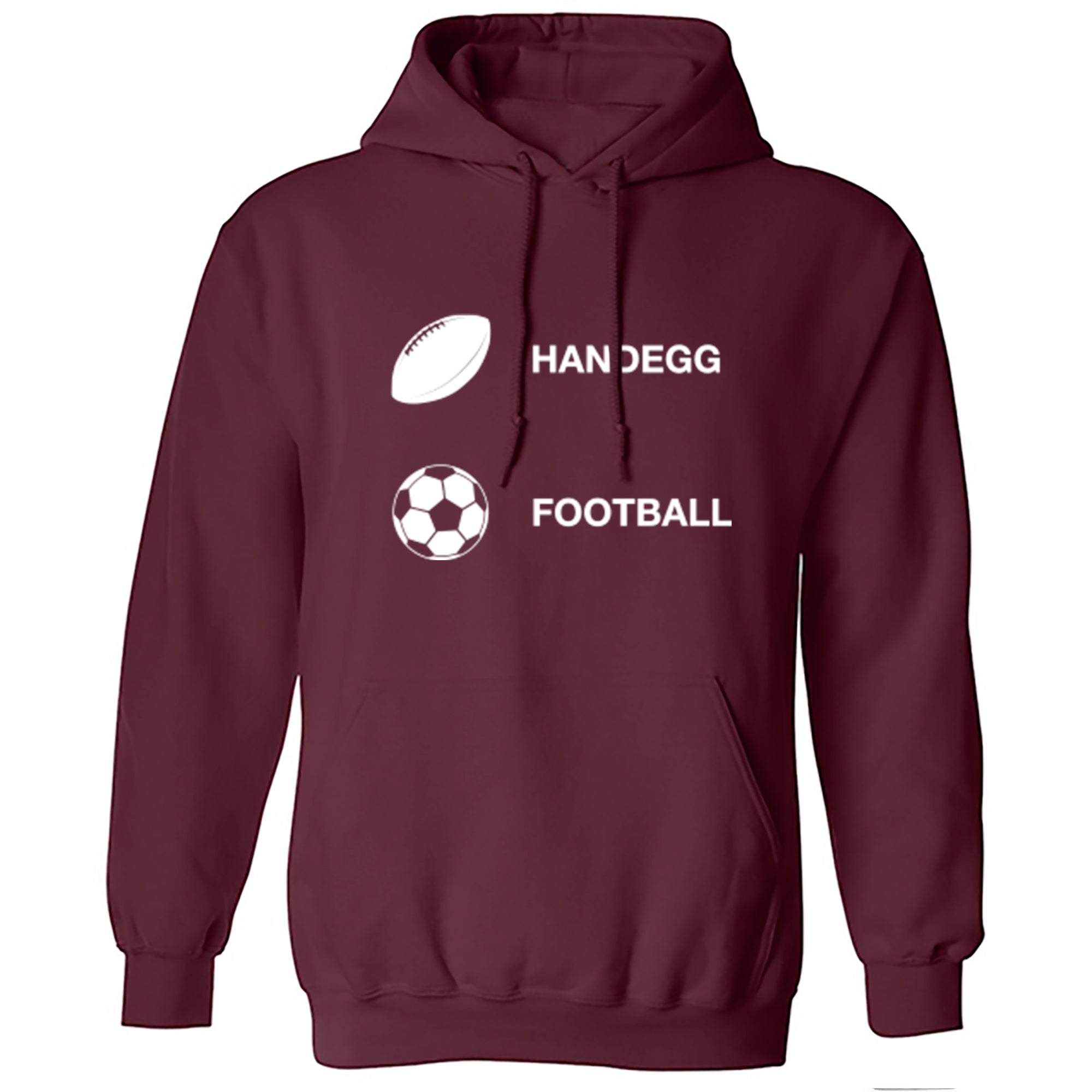 Handegg, Football Unisex Hoodie A0085 - Illustrated Identity Ltd.