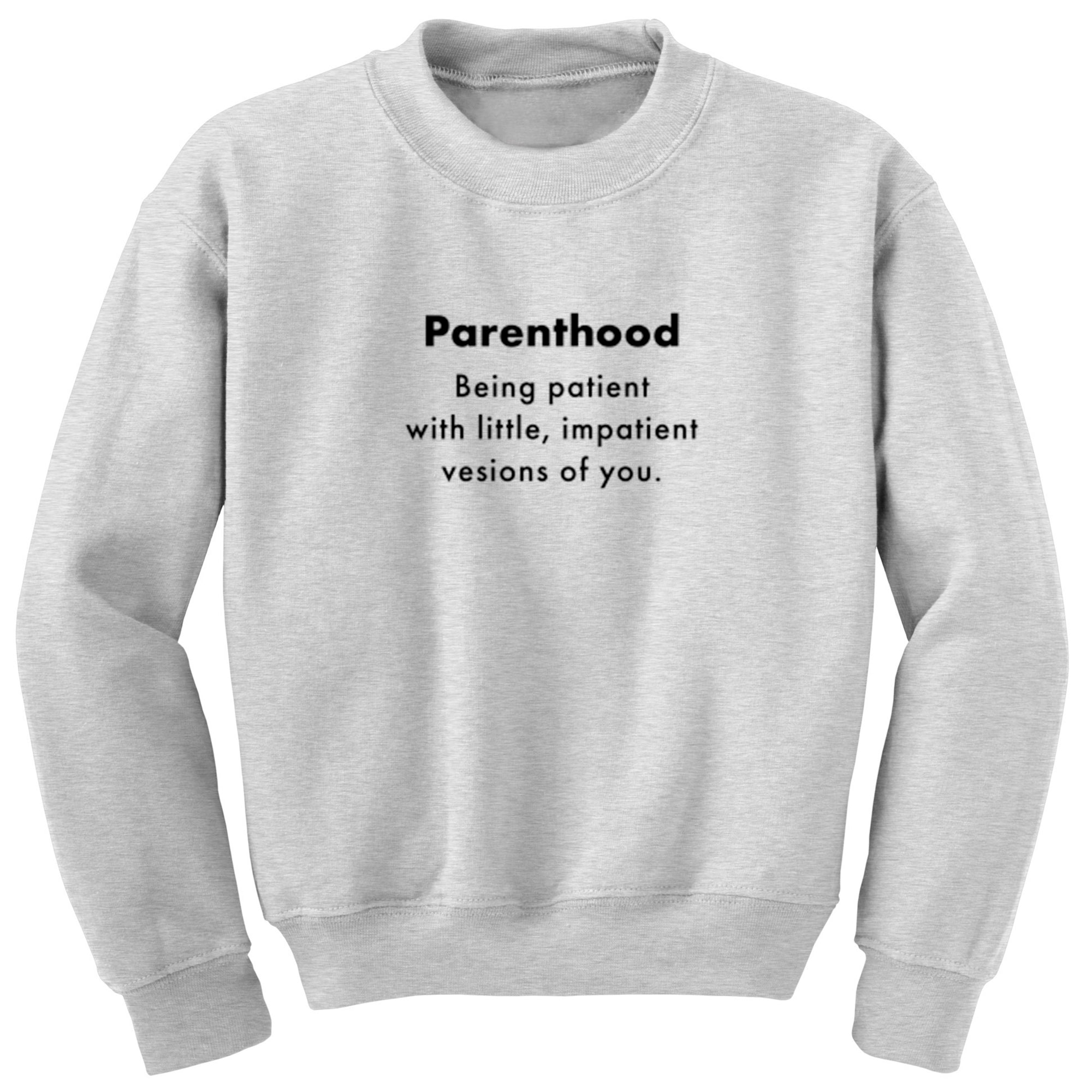 Parenthood Definition Unisex Jumper A0089 - Illustrated Identity Ltd.