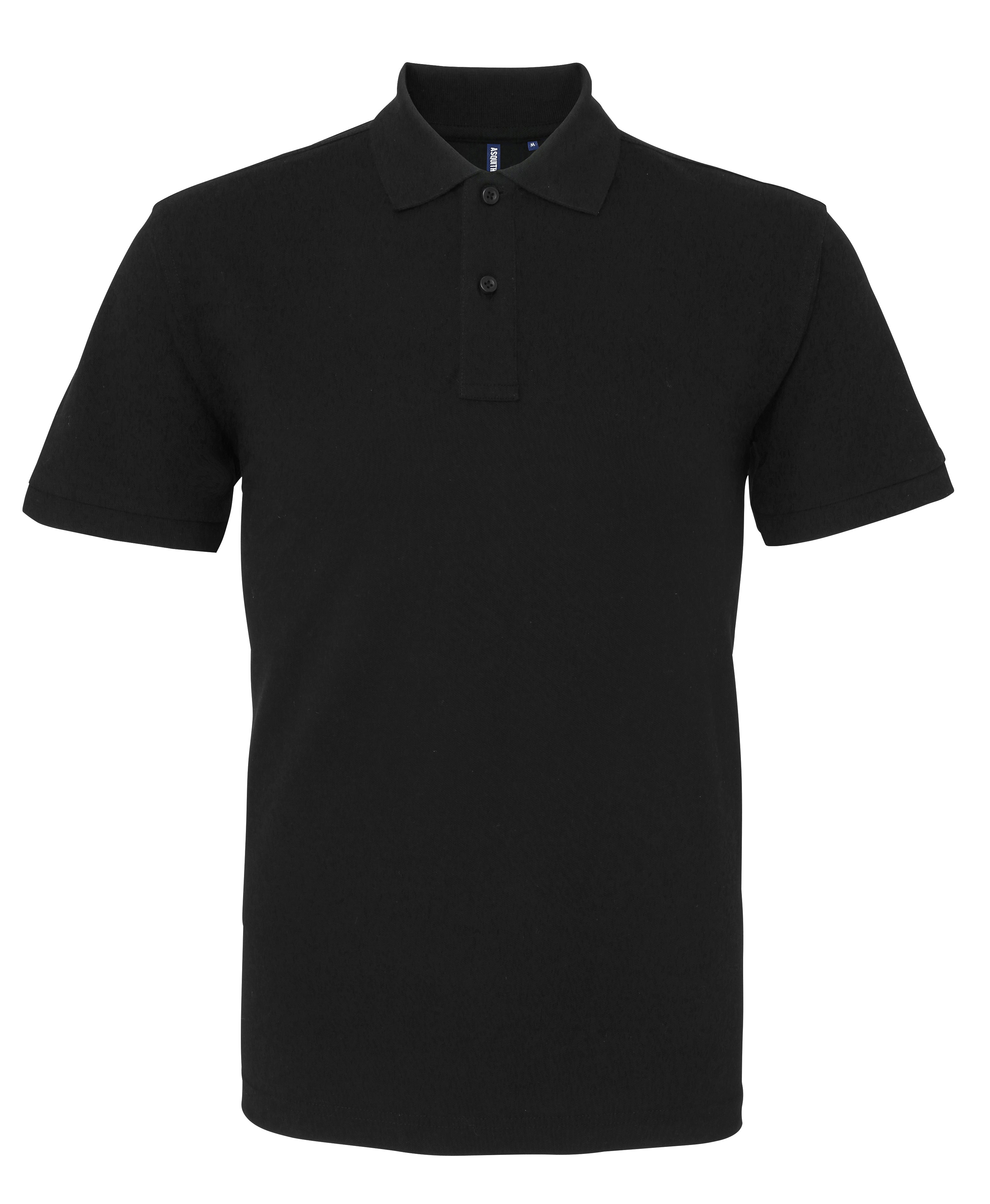 Men's Polo With Embroidered Pocket Logo - Illustrated Identity Ltd.