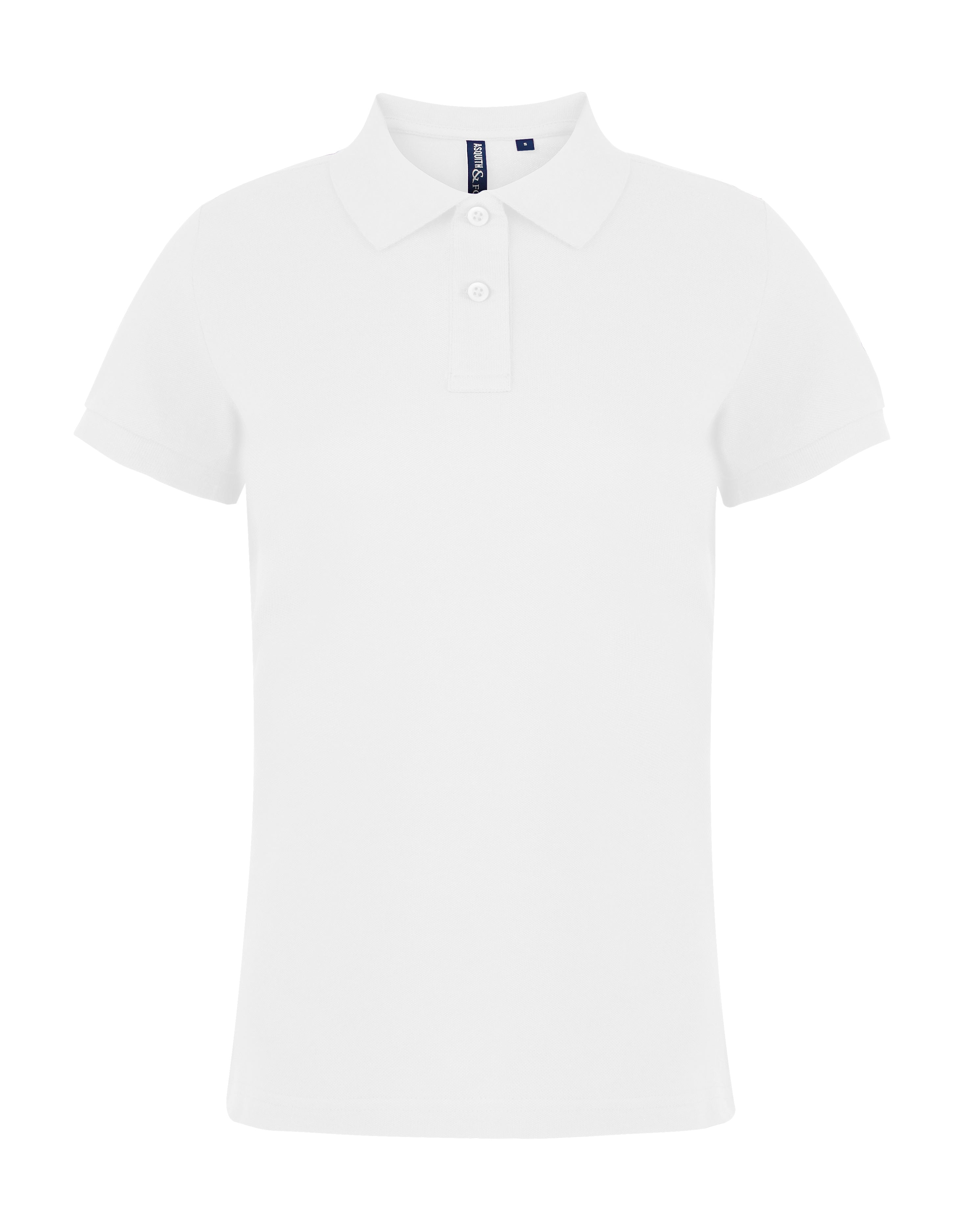 Women's Branded Polo With Embroidered Pocket Logo - Illustrated Identity Ltd.