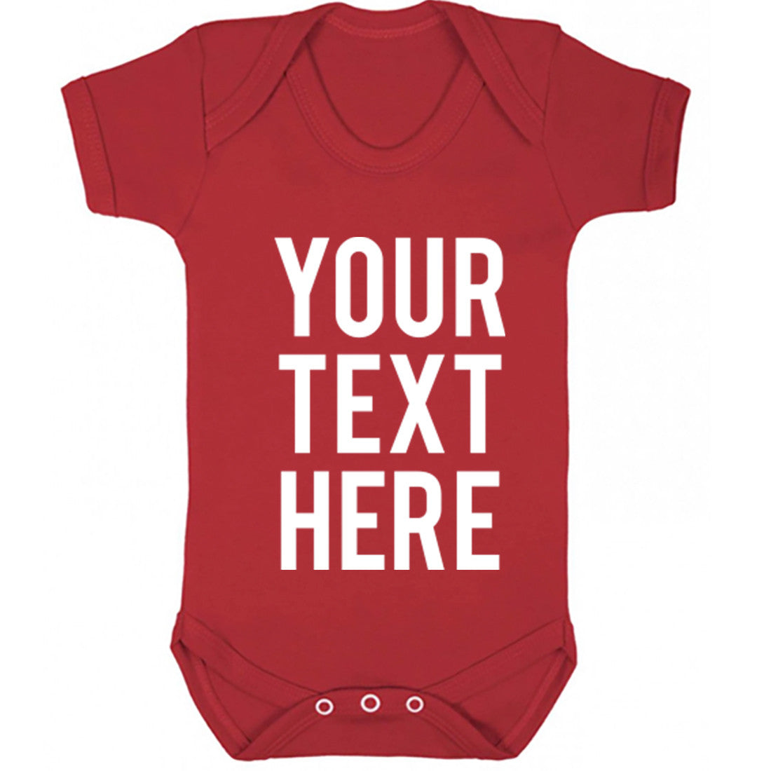 Your Text Here Baby Vest K0001