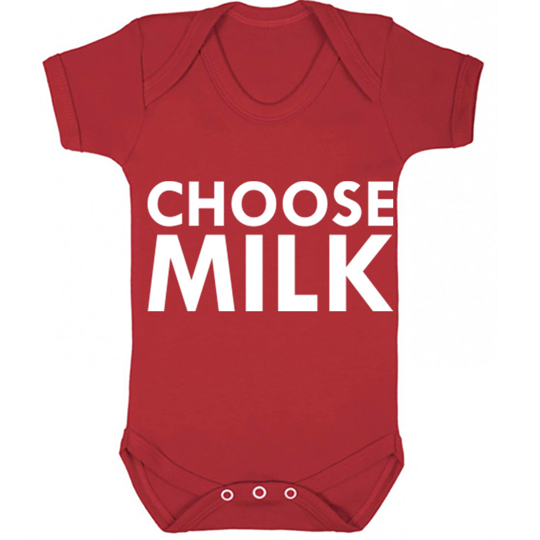 Choose Milk Baby Vest K0004