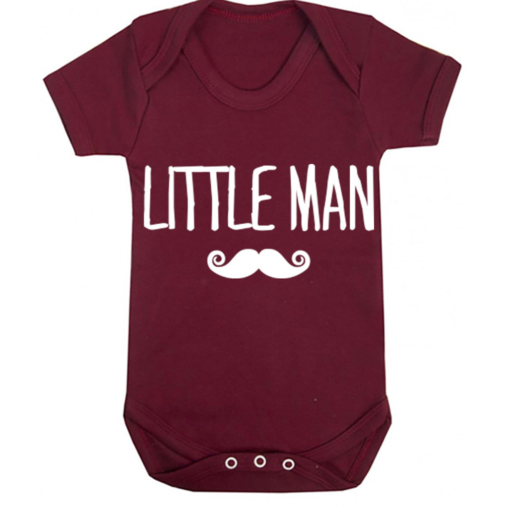 Little Man Baby Vest K0006
