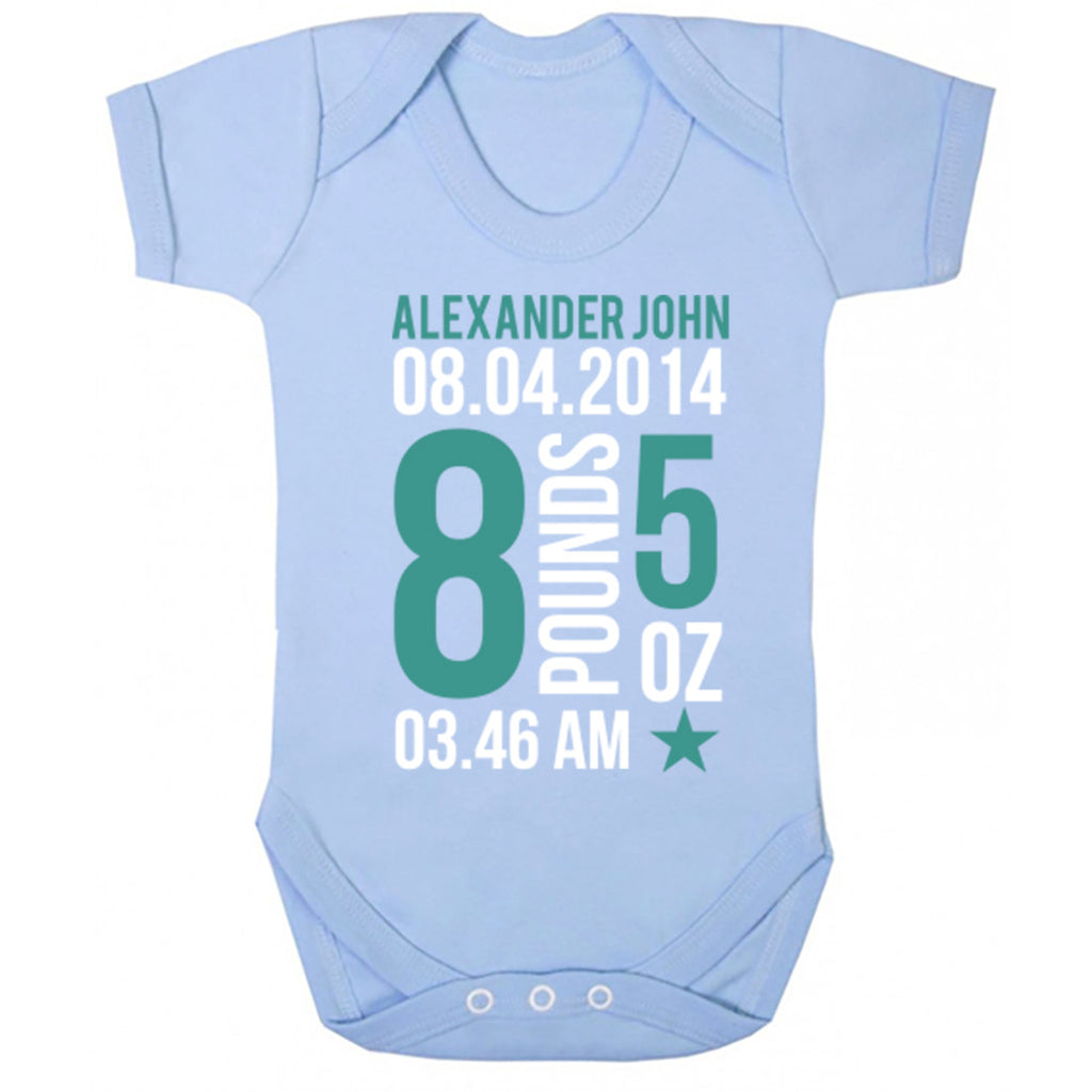 Custom Weight Baby Vest K0010
