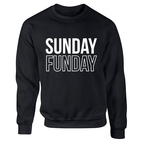 Sunday Funday Unisex Jumper K0045