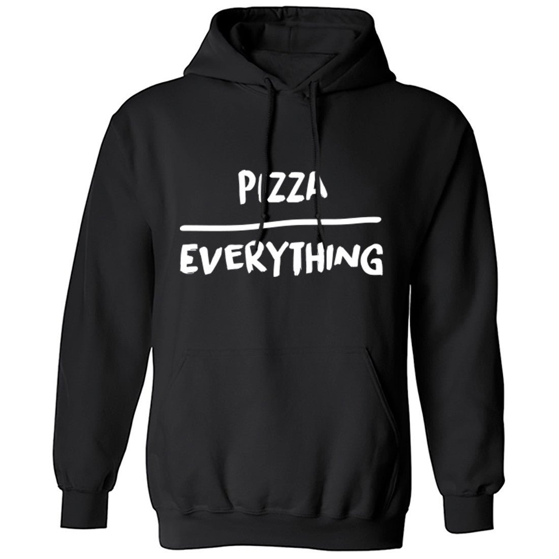 Pizza Over Everything unisex fit hoodie hooded sweatshirt K0120 8WtKO9q