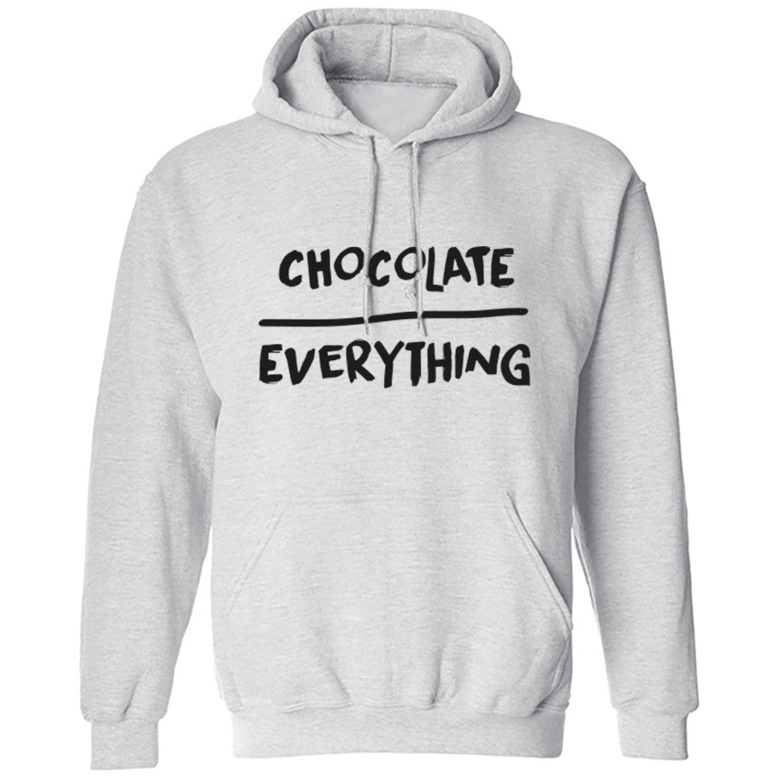 Chocolate Over Everything Hoodie K0121 - Illustrated Identity Ltd.