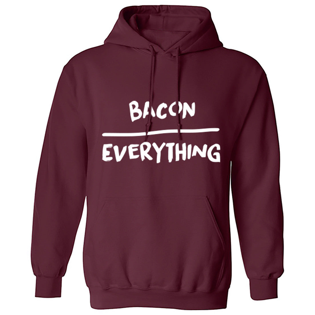 Bacon Over Everything Hoodie K0125 - Illustrated Identity Ltd.