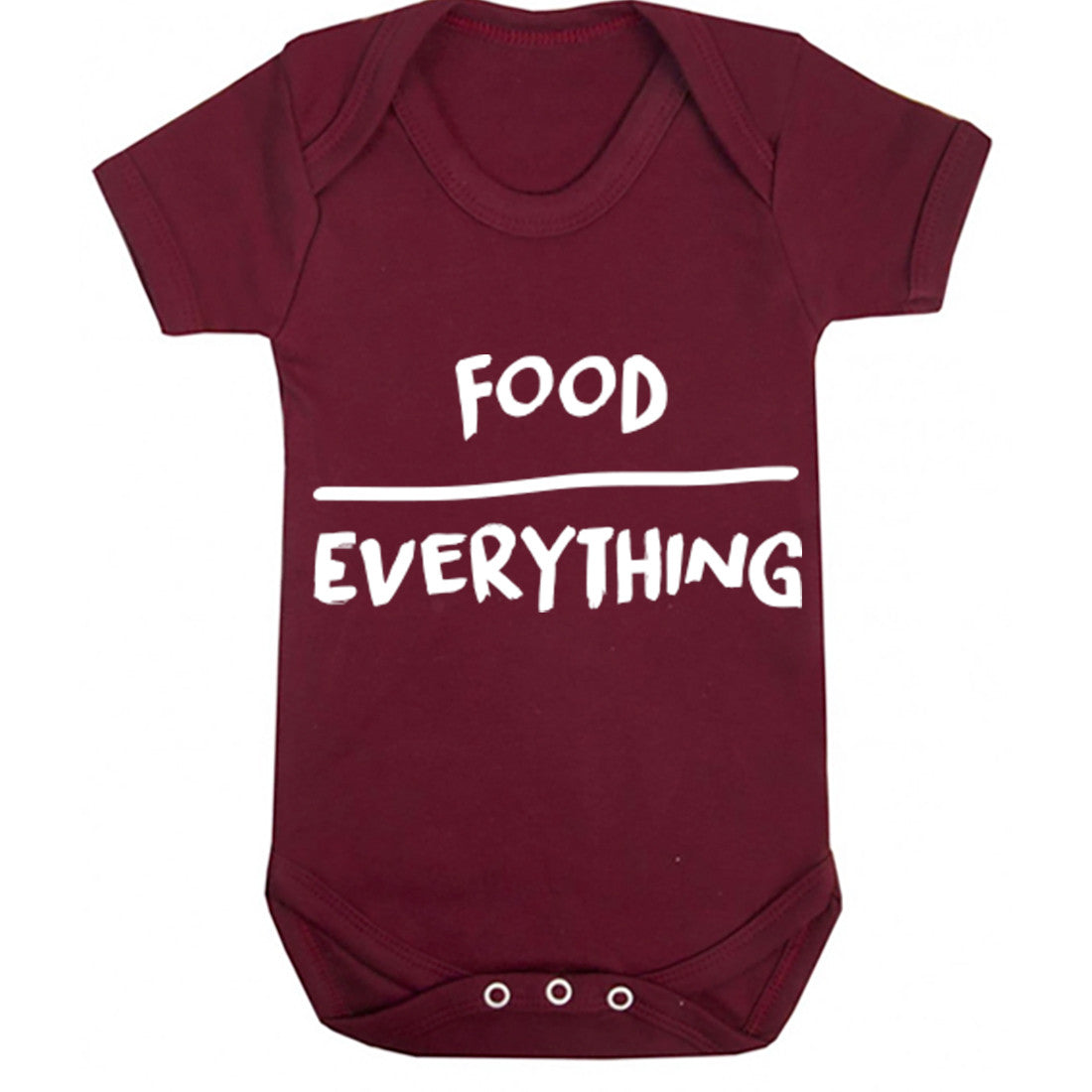 Food Over Everything Baby Vest K0126