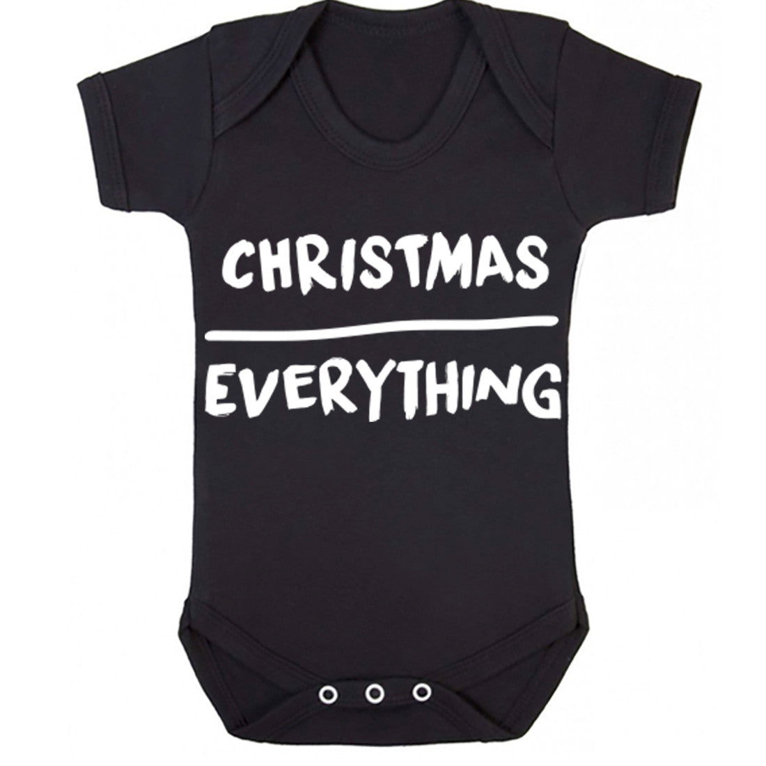 Christmas Over Everything Baby Vest K0127
