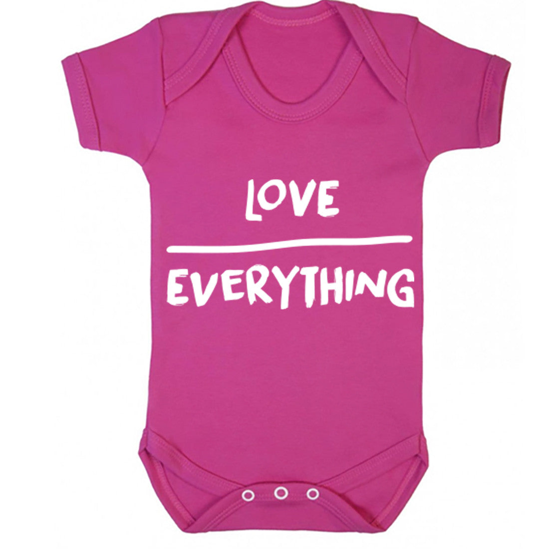 Love Over Everything Baby Vest K0128