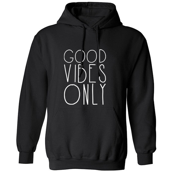 Good Vibes Only Unisex Hoodie K0160 - Illustrated Identity Ltd.