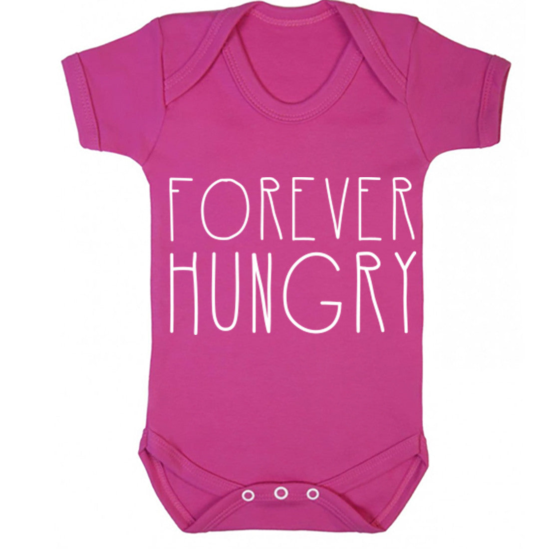 Forever Hungry Baby Vest K0172