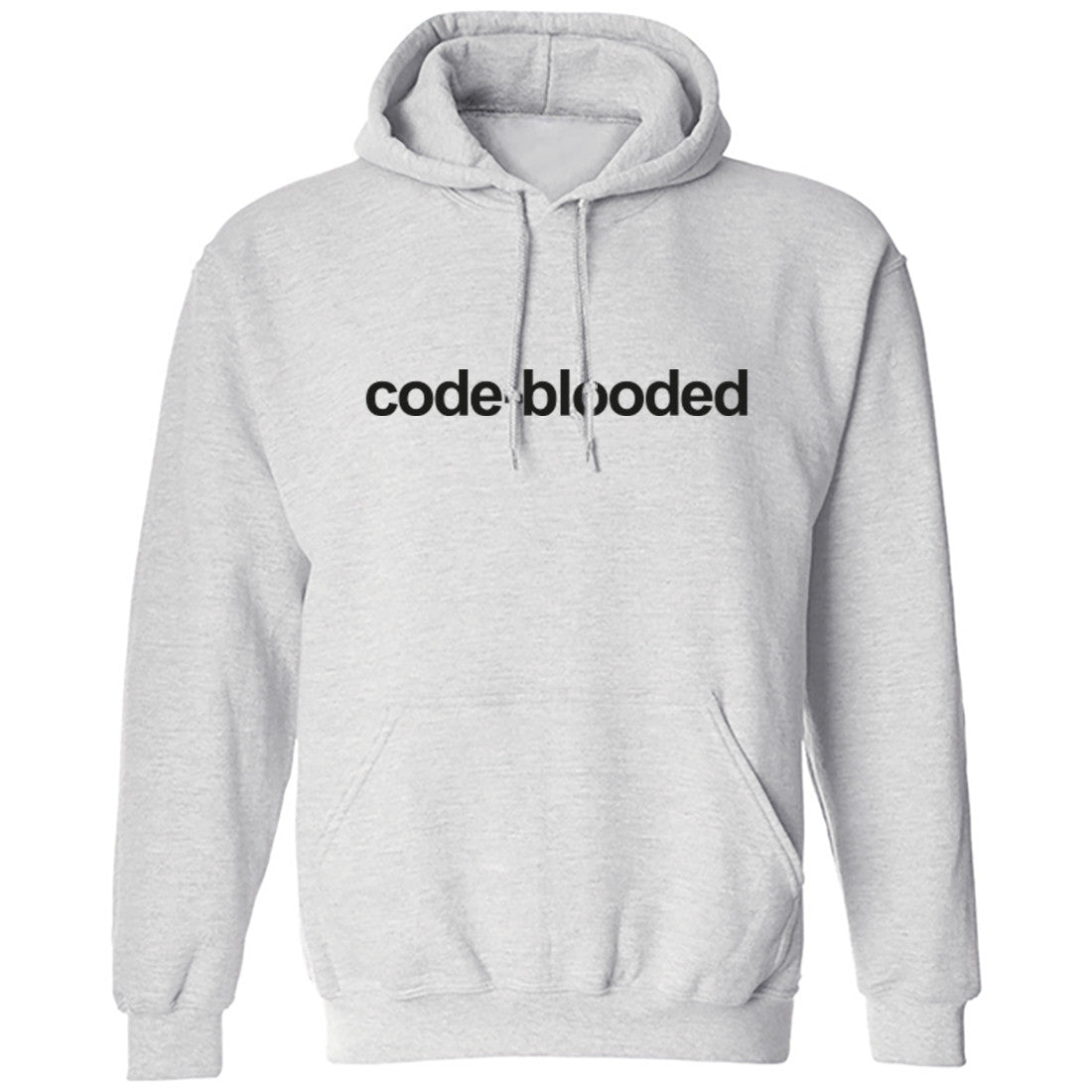 Code Blooded Unisex Hoodie K0183 - Illustrated Identity Ltd.