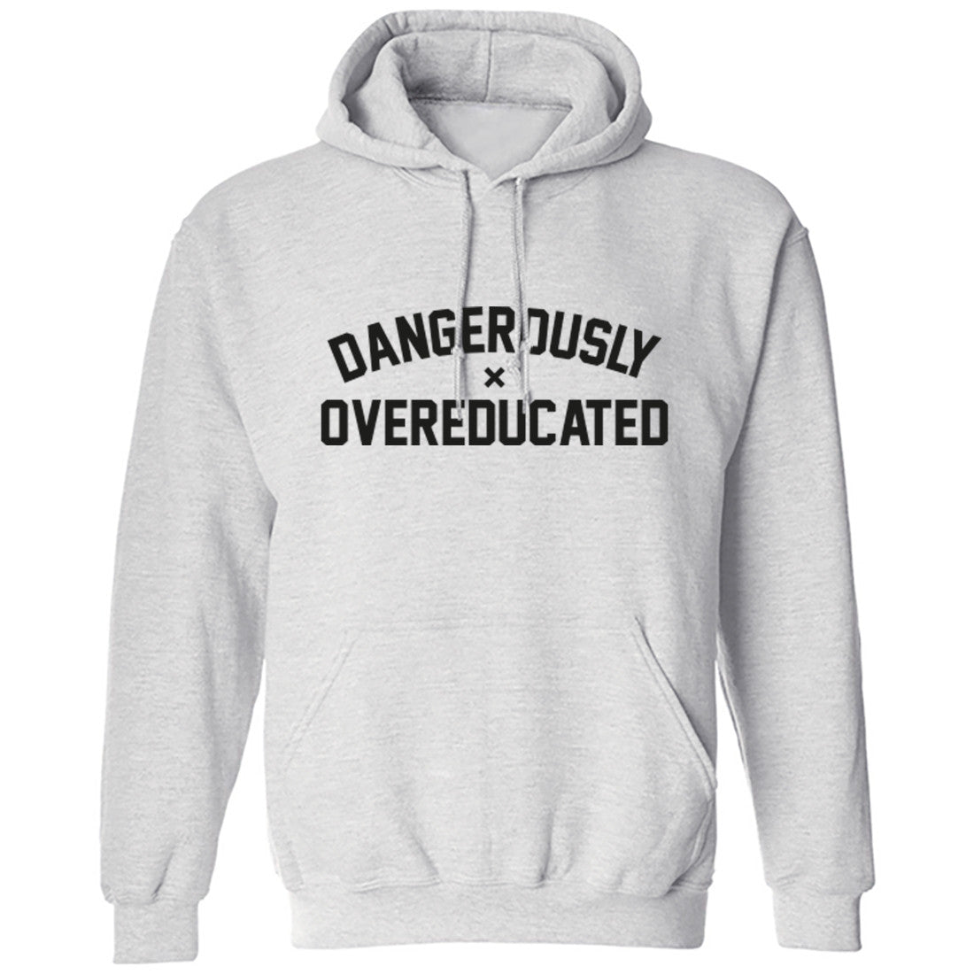 Dangerously Overeducated Unisex Hoodie K0251 - Illustrated Identity Ltd.