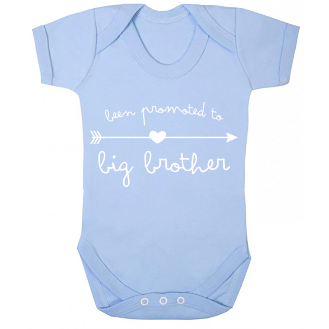 Been Promoted To Big Brother Baby Vest K0259