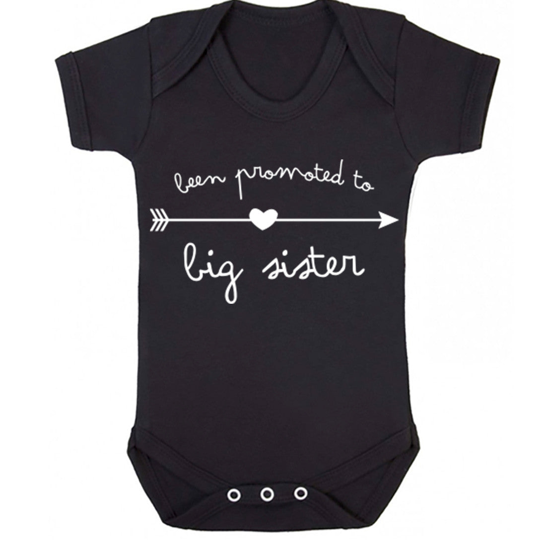 Been Promoted To Big Sister Baby Vest K0260