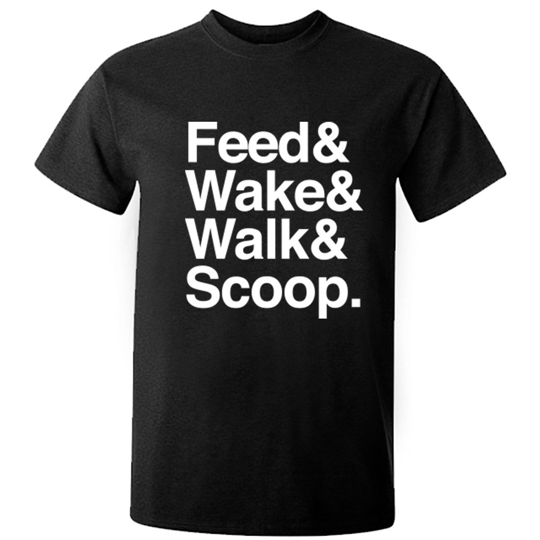 Feed Walk Scoop Repeat Unisex Fit T-Shirt K0288