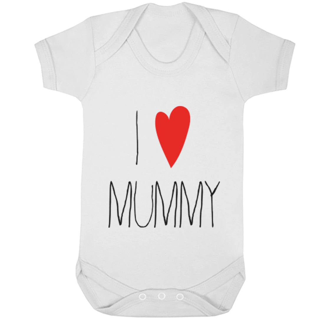 I Heart Mummy Baby Vest K0343 - Illustrated Identity Ltd.