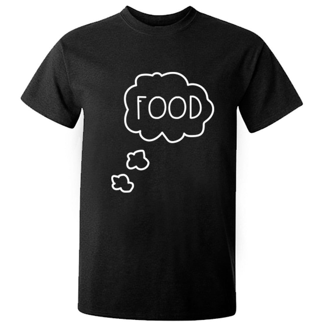 Thinking About Food Unisex Fit T-Shirt K0364 - Illustrated Identity Ltd.