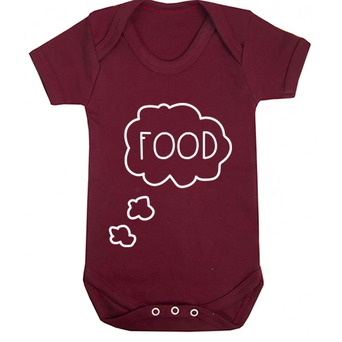 Thinking About Food Baby Vest K0364