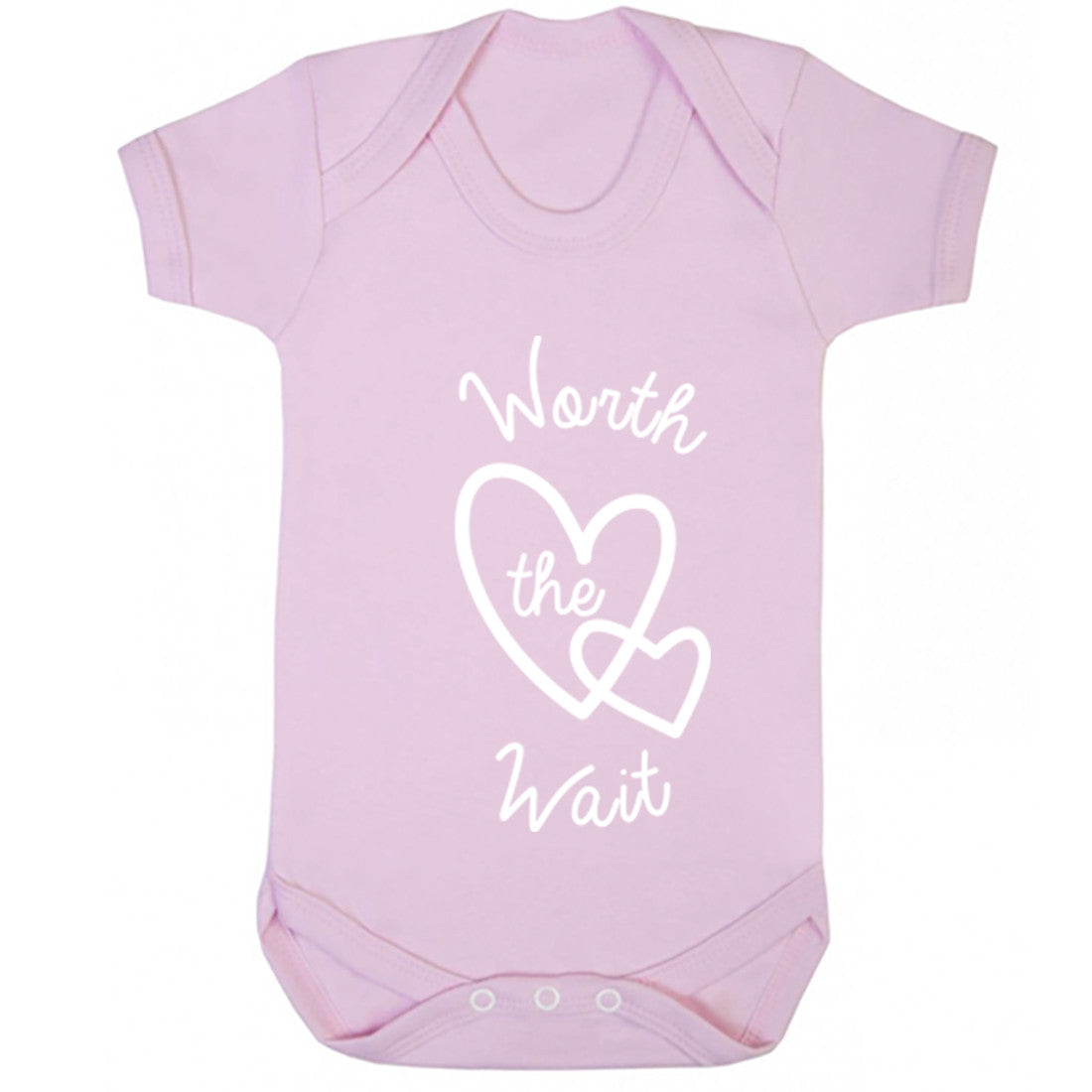 Worth The Wait Baby Vest K0365