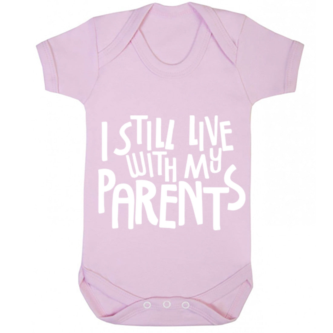 I Still Live With My Parents Baby Vest K0367
