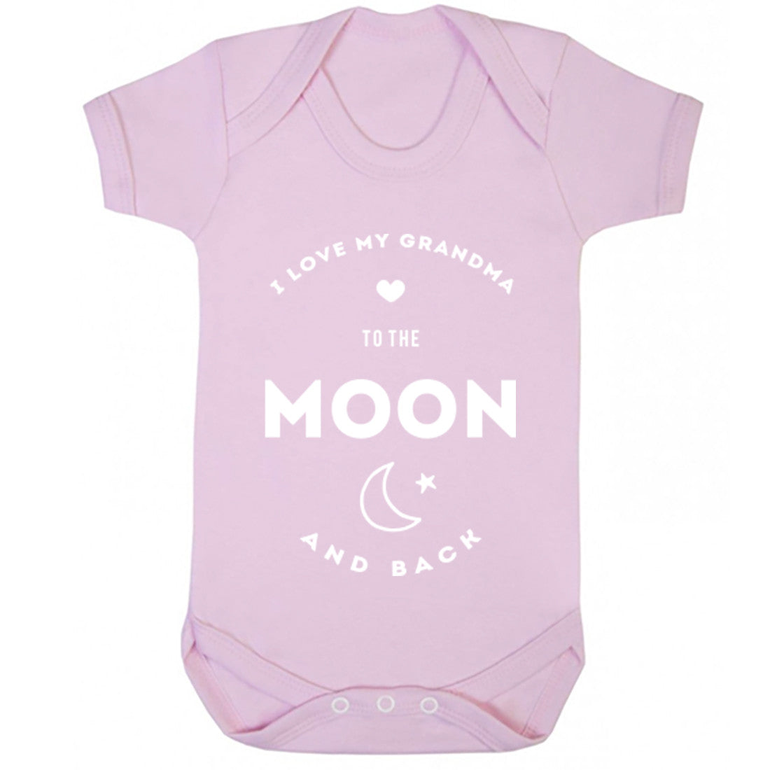 I Love My Grandma To The Moon And Back Baby Vest K0399