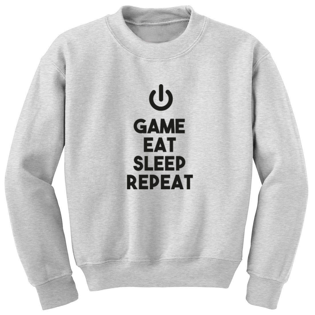 Game Eat Sleep Repeat Unisex Jumper K0444 - Illustrated Identity Ltd.