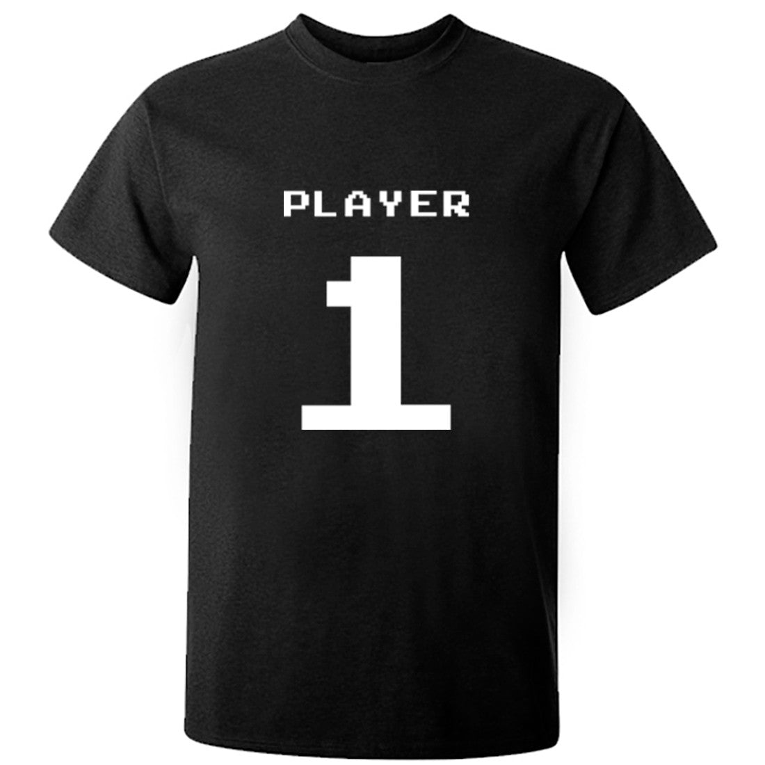 Player 1 Unisex Fit T-Shirt K0544 - Illustrated Identity Ltd.