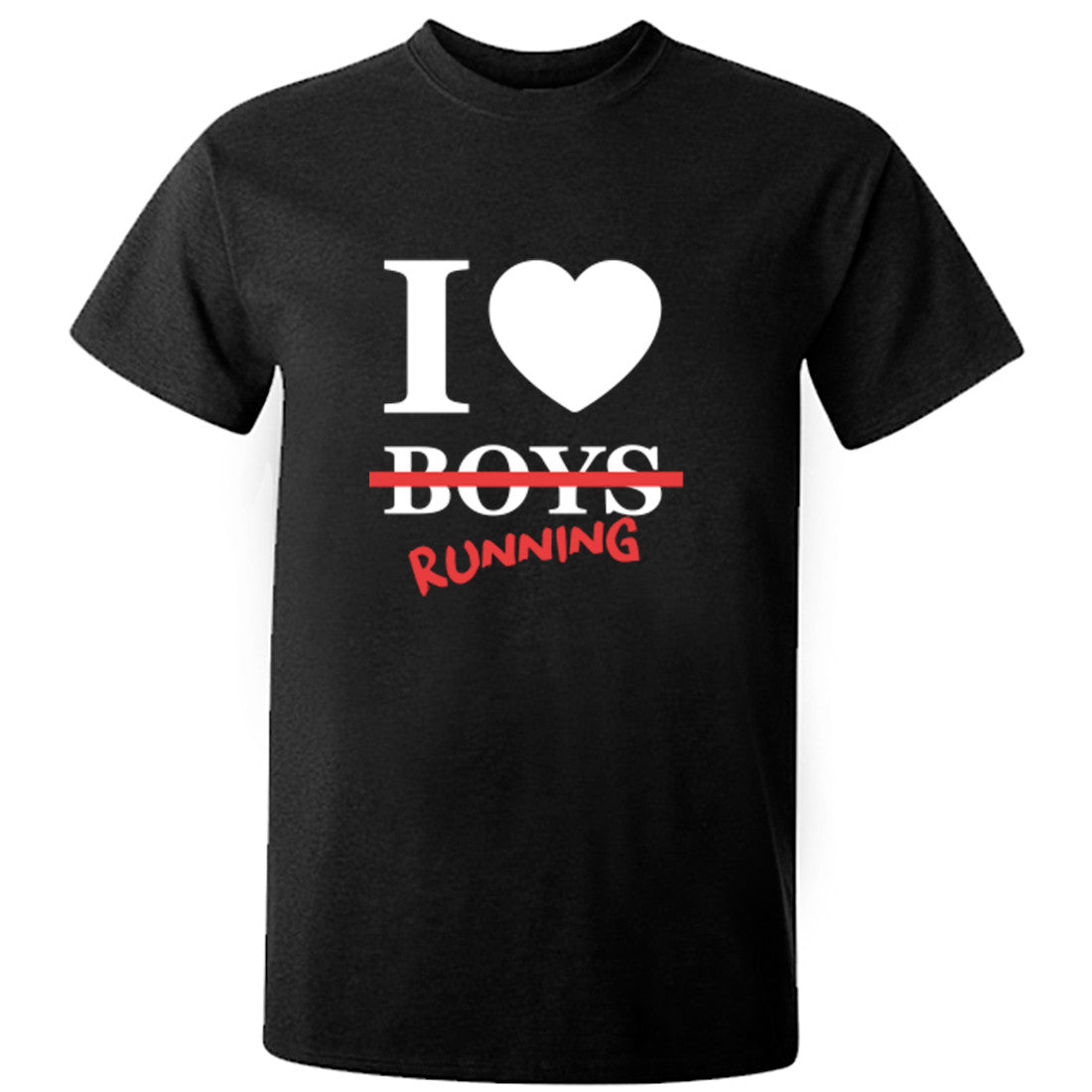 I Love Running Unisex Fit T-Shirt K0629