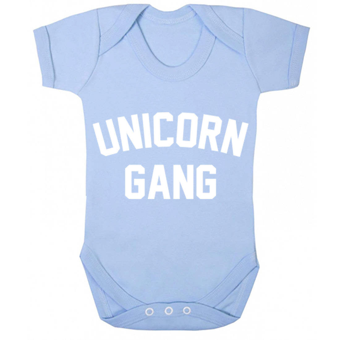 Unicorn Gang Baby Vest K0746 - Illustrated Identity Ltd.