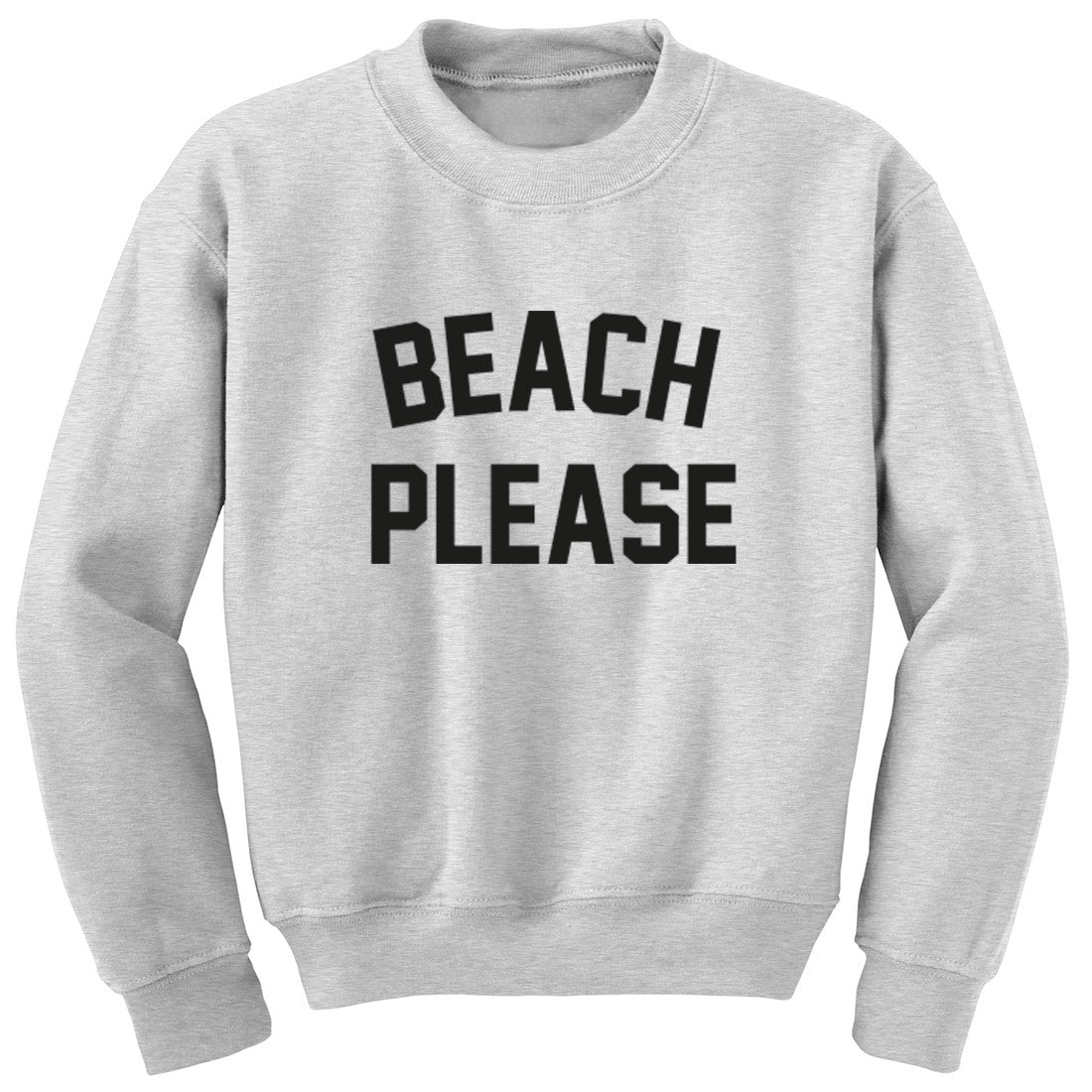 Beach Please Unisex Jumper K0750