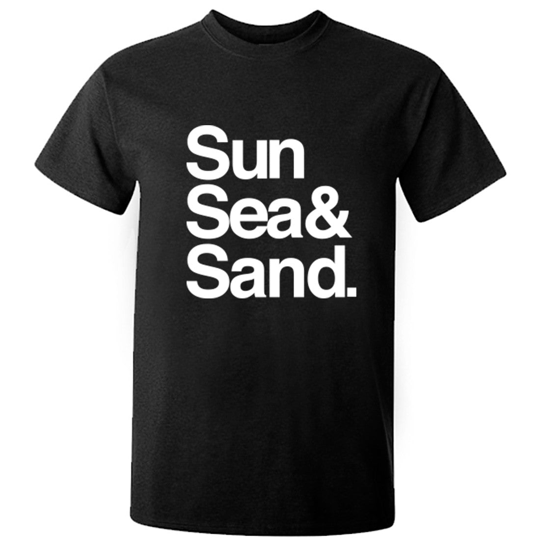 Sun Sea & Sand Unisex Fit T-Shirt K0775 - Illustrated Identity Ltd.