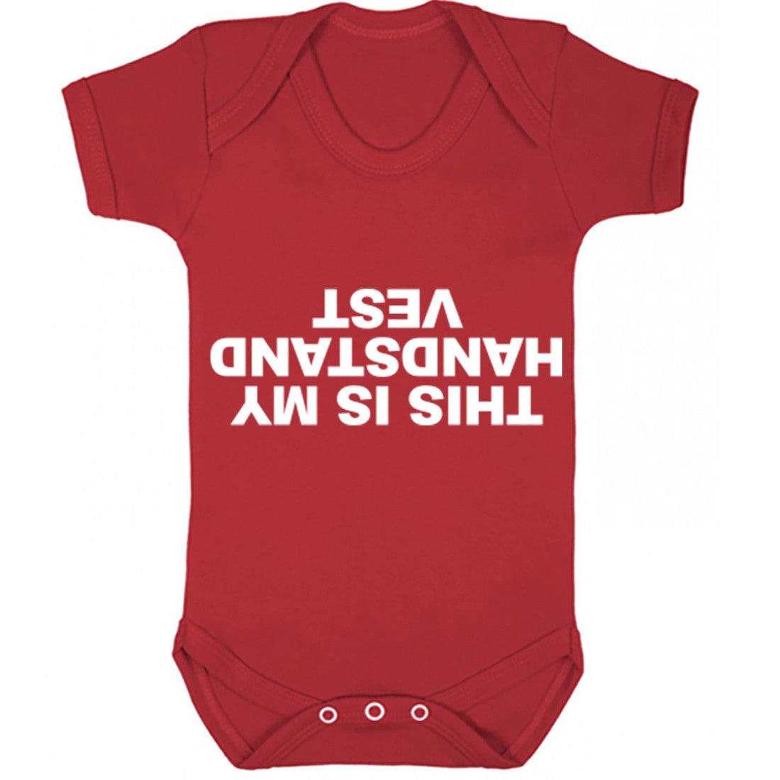 This Is My Handstand Baby Vest K0977 - Illustrated Identity Ltd.