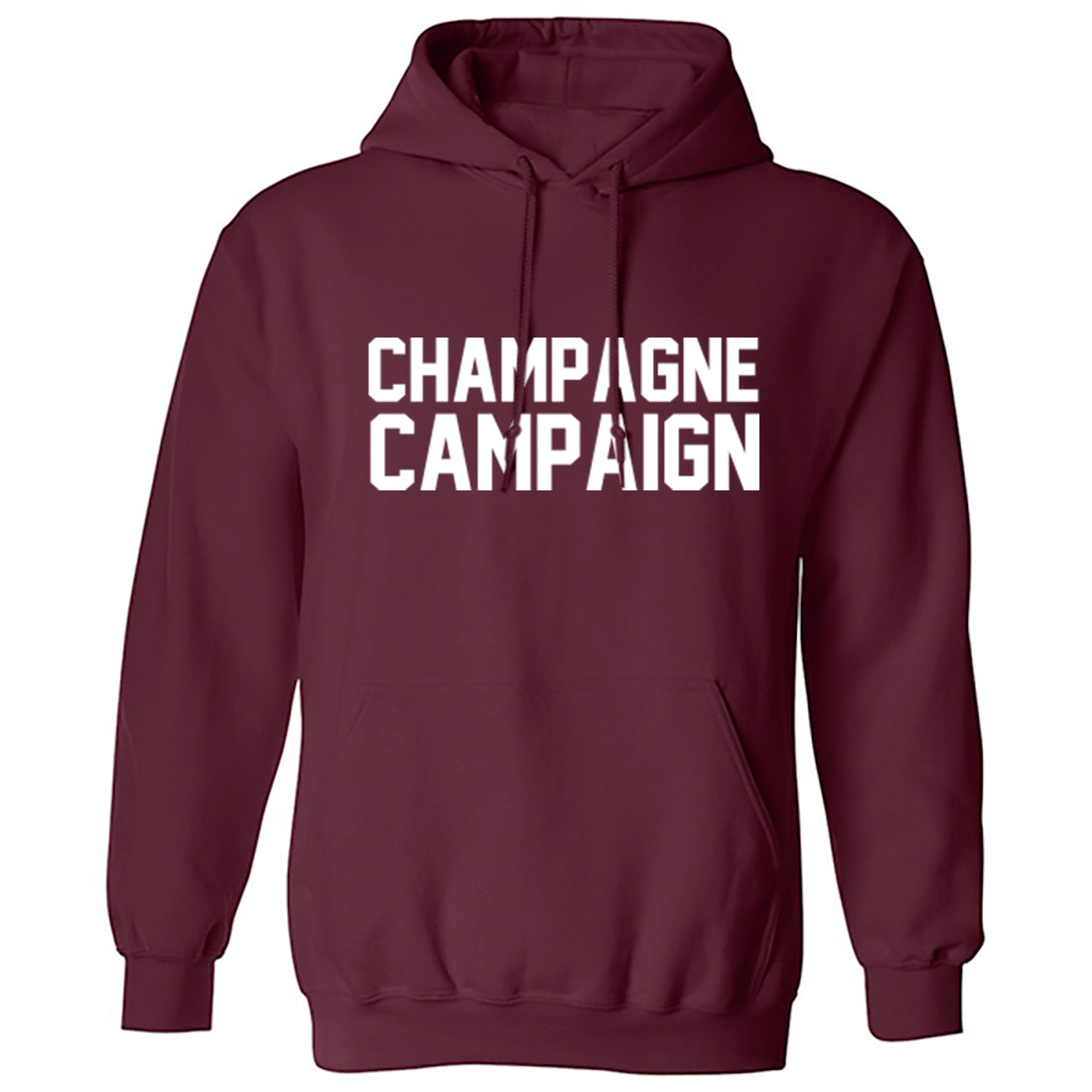 Champagne Campaign Unisex Hoodie K0985 - Illustrated Identity Ltd.
