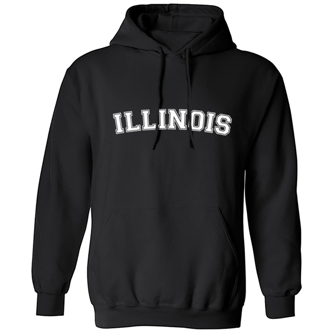 Illinois American Type Unisex Hoodie K1103 - Illustrated Identity Ltd.