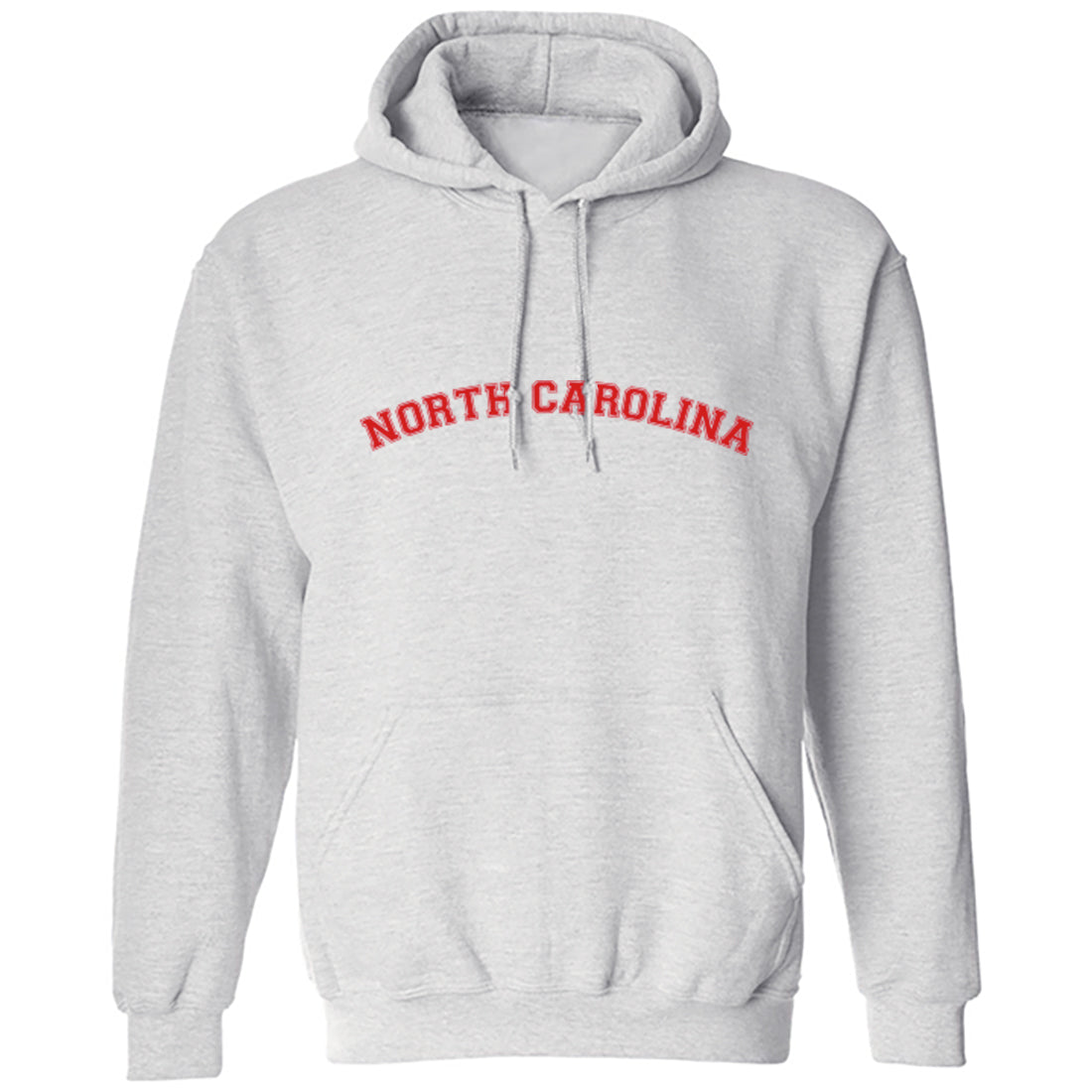 North Carolina American Type Unisex Hoodie K1111 - Illustrated Identity Ltd.