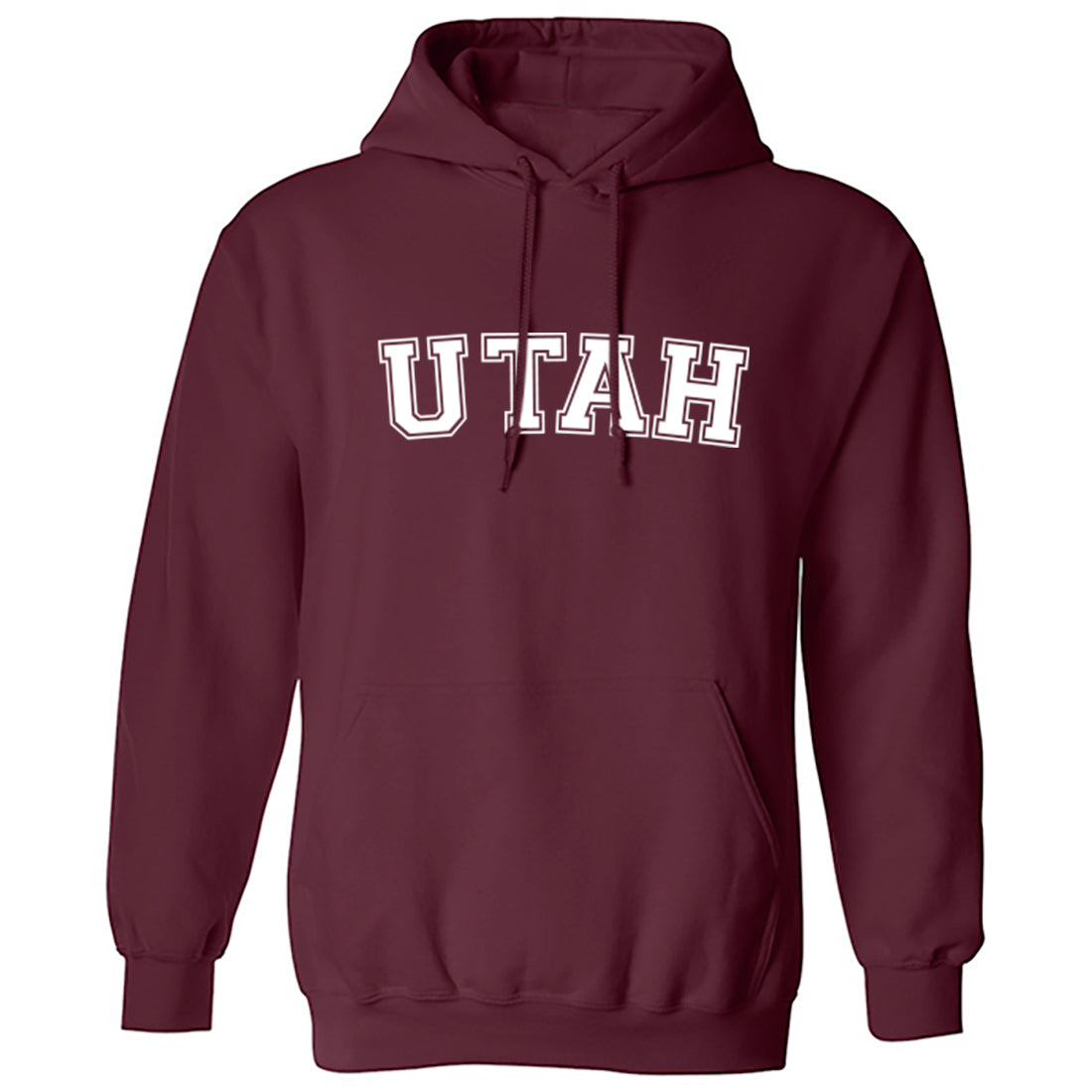 Utah American Type Unisex Hoodie K1128 - Illustrated Identity Ltd.