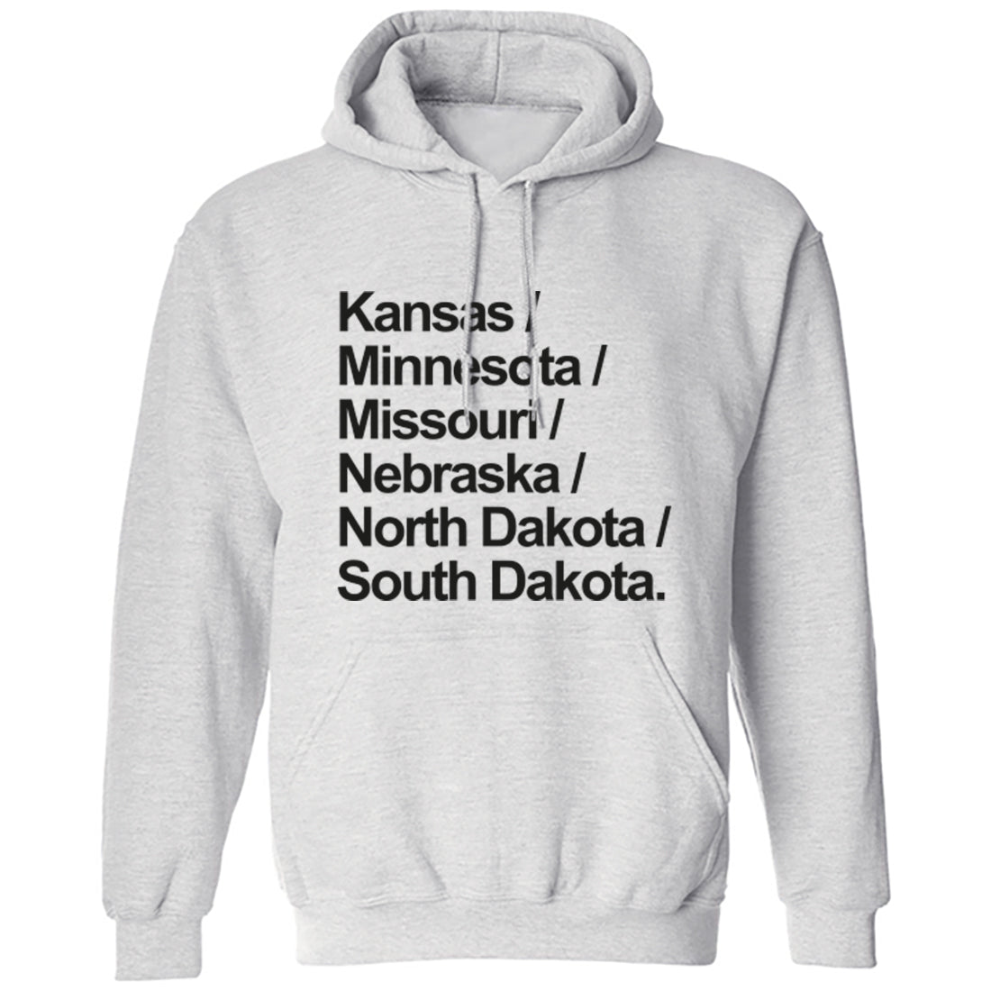 Mid West American States Division 4 Unisex Hoodie K1135 - Illustrated Identity Ltd.